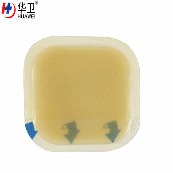 CE FDA Certified Burn Wound Care Hydrocolloid Wound Dressing
