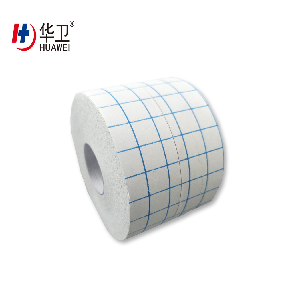 Medical Nonwoven And Woven Material Adhesive Tape Dressing Roll