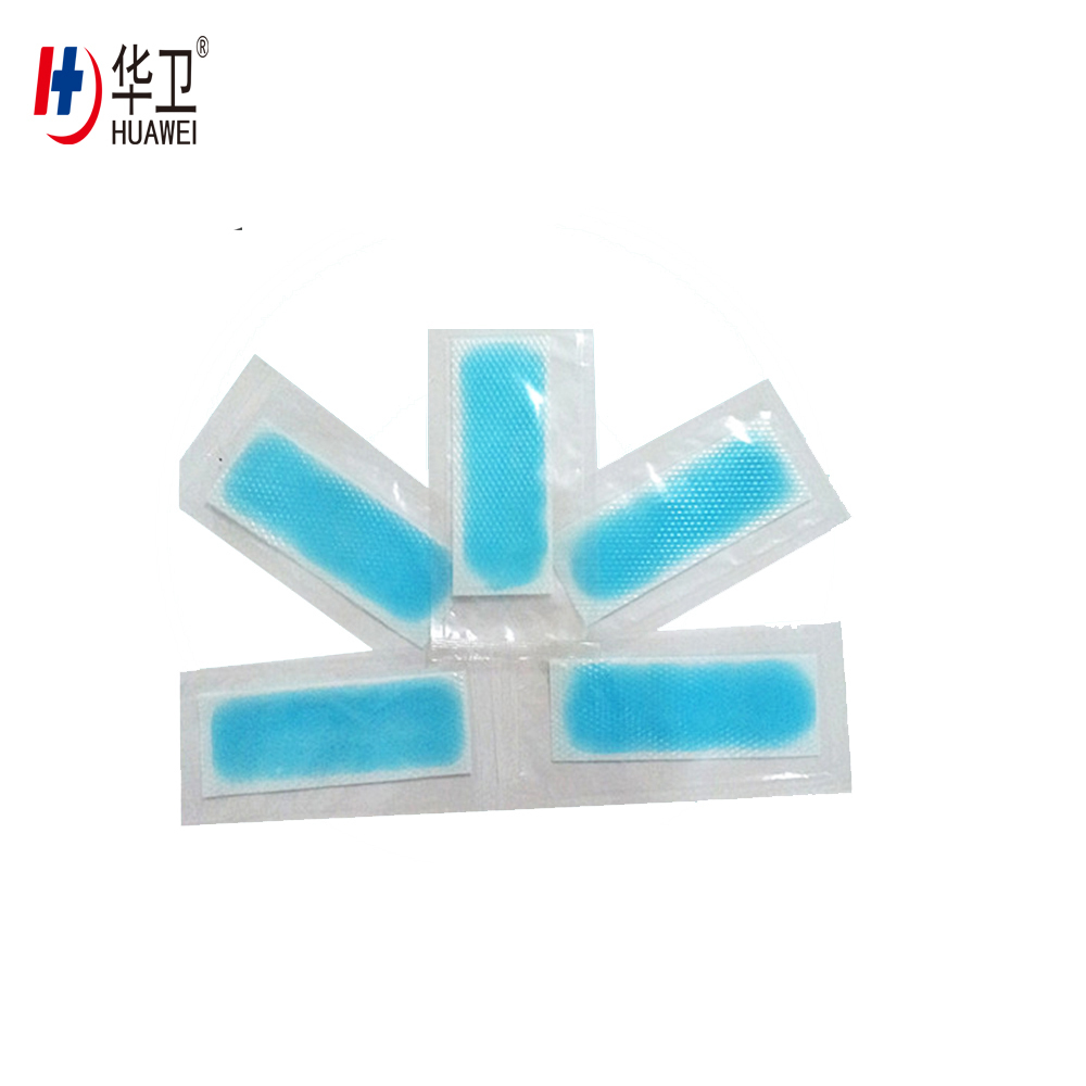 Cooling Gel Patch Refreshing Fever Patches Burn Wound Gel Cooling Head Patch