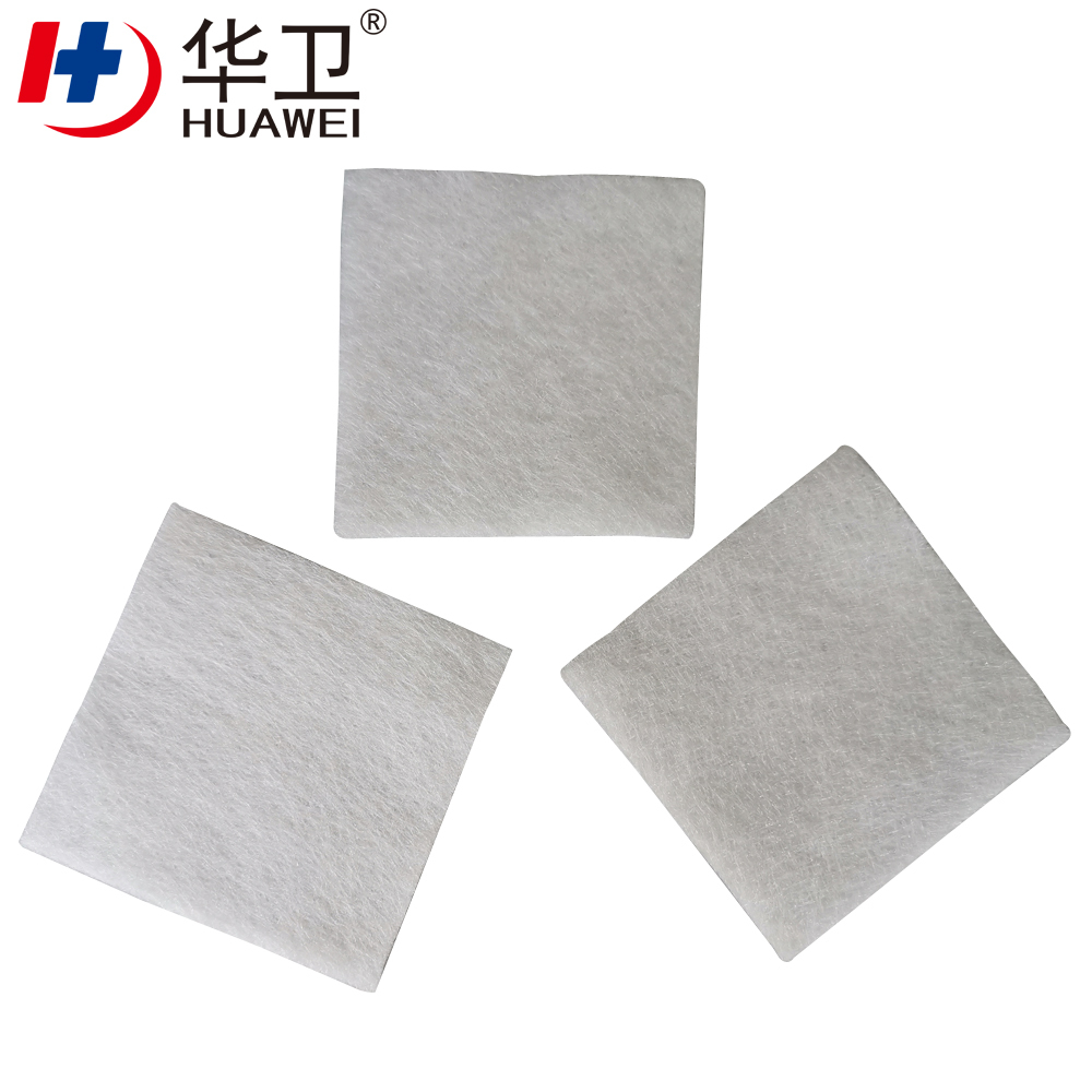 Advanced Sterile Medical Haemostatic Calcium Alginate Wound Dressing
