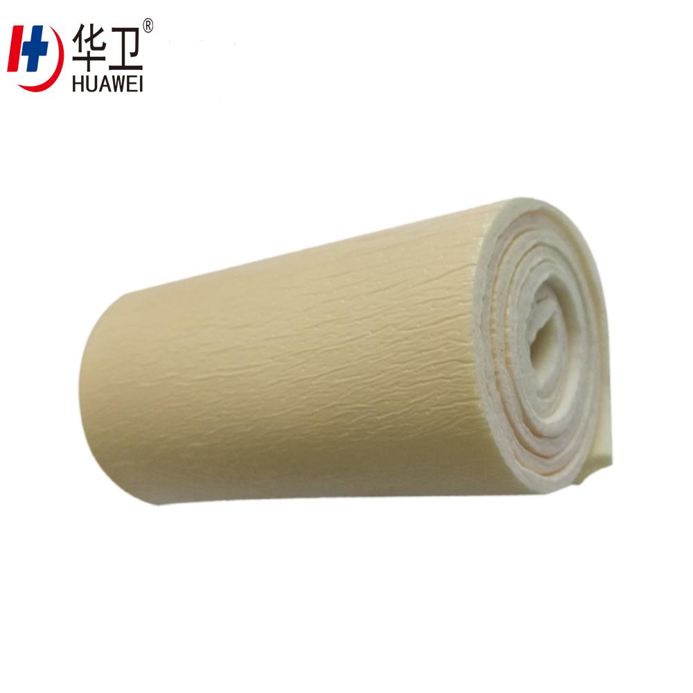 Medical Foam Dressing Bandage Roll No Adhesive
