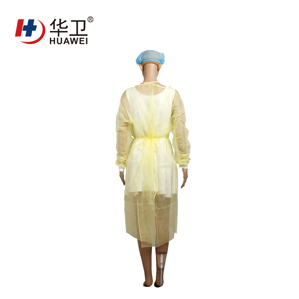 Disposable non woven hospital use personal use isolation gown