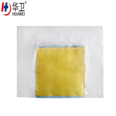 PU Incise Surgical Dressing Drape With Three Side Connection Wastage Collection Bag