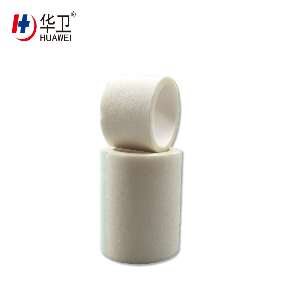 Medical Surgical Fixing Non Woven Paper Tape