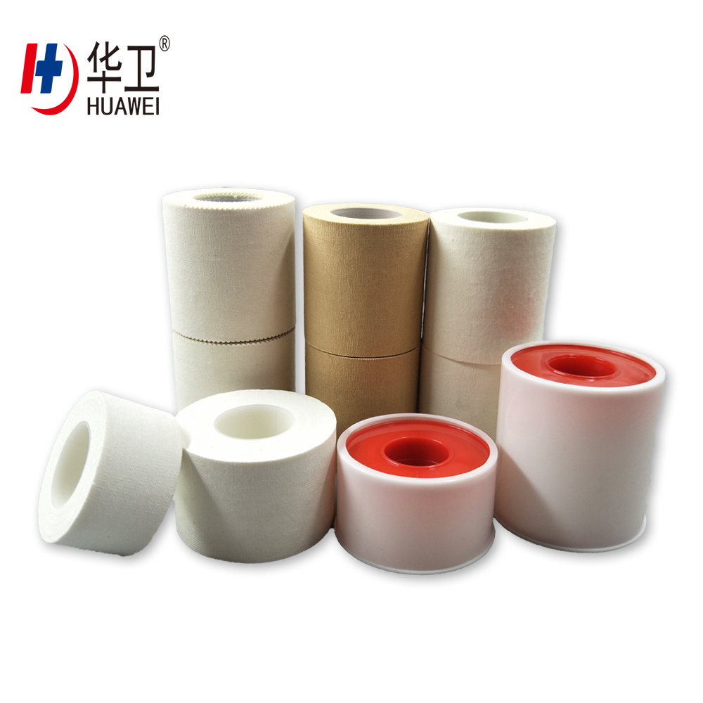 Widely Usage 100% Cotton Zinc Oxide Tape Plaster For Medical Use