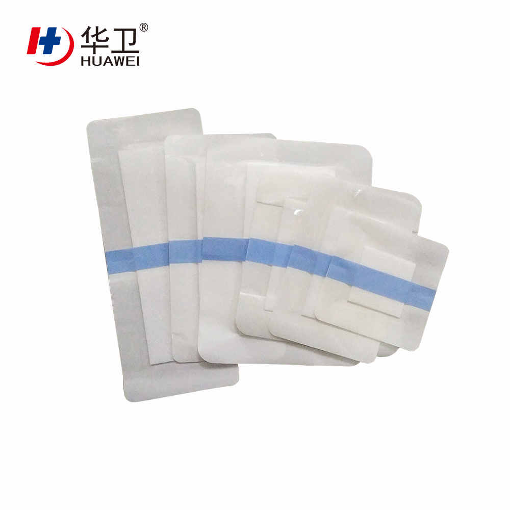 Medical Transparent PU Film Wound Dressing