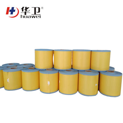 Medical Surgical Incise PU Wound Dressing Film Roll With Iodine And Iodophor