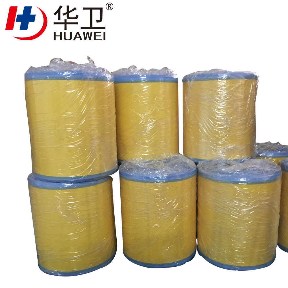 PE Surgical Incise Dressing Film Roll Bandage Plaster With Iodophor