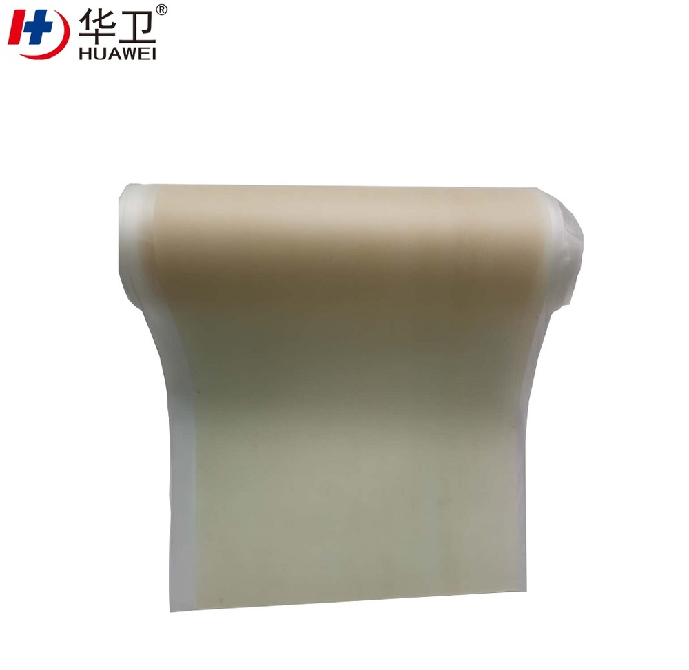 Ultra Thin Hydrocolloid Wound Dressing Raw Material Roll