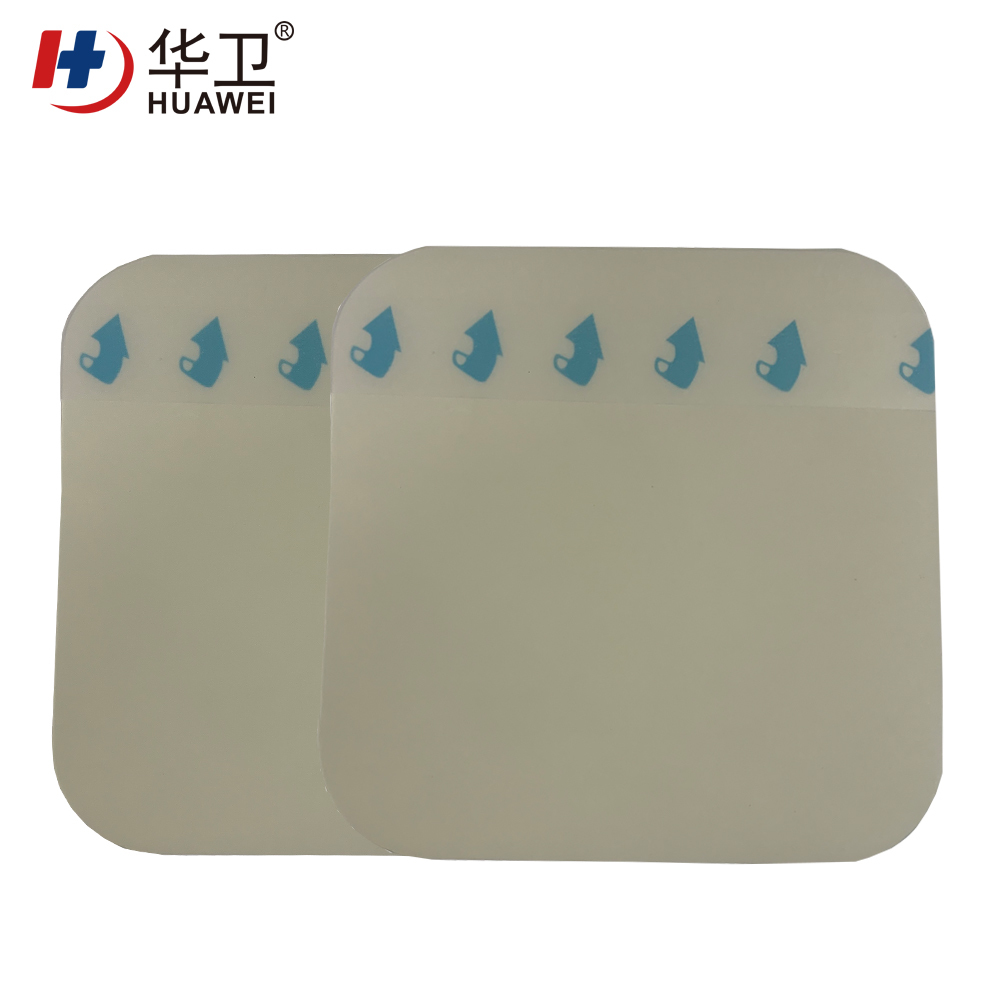 Ultra thin 5*5/10*10 cm Hydrocolloid wound dressing