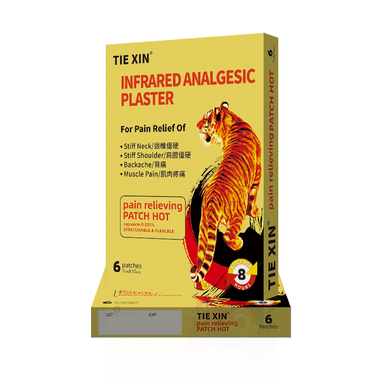 Infrared analgesic plaster-A